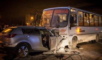 В ДТП на Московском проспекте погиб человек, еще четверо ранены