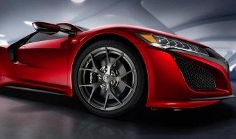 Acura представила характеристики нового суперкара NSX