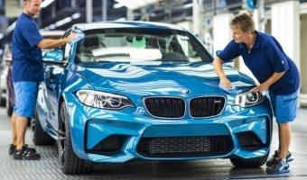 BMW начали сборку M2 Coupe 2016 в Лейпциге