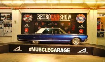 Retro Car Show in Piterland - 29.10.15
