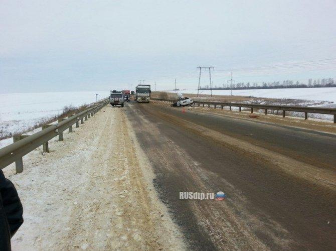 В Мордовии в ДТП с грузовиком погиб водитель ВАЗа 3.jpg