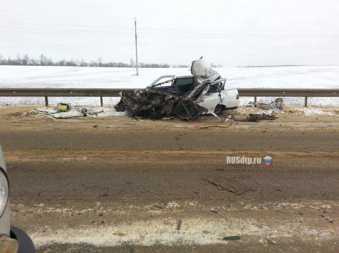 В Мордовии в ДТП с грузовиком погиб водитель ВАЗа 2.jpg