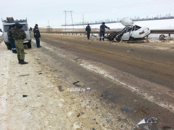 В Мордовии в ДТП с грузовиком погиб водитель ВАЗа 1.jpg
