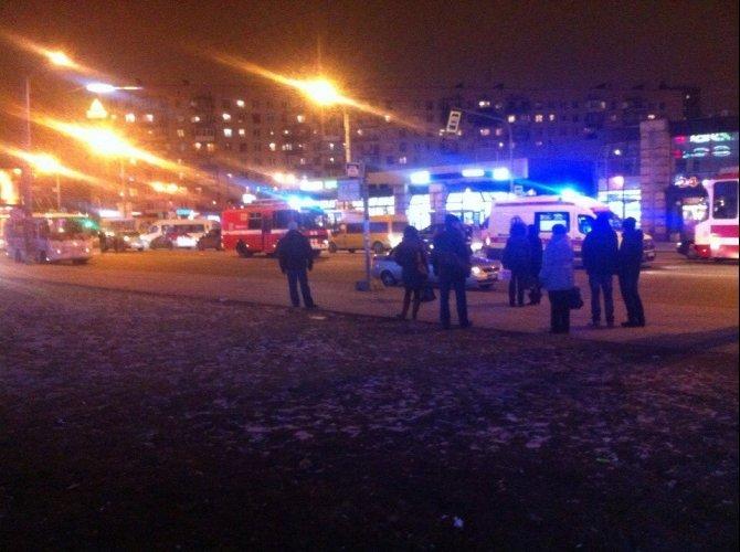 Пьяный водитель сбил девушку возле метро «Звездная» 2.jpg