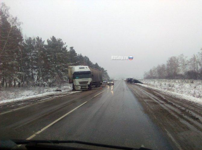 При столкновении Audi и грузовика под Димитровградом погиб человек_2.jpg