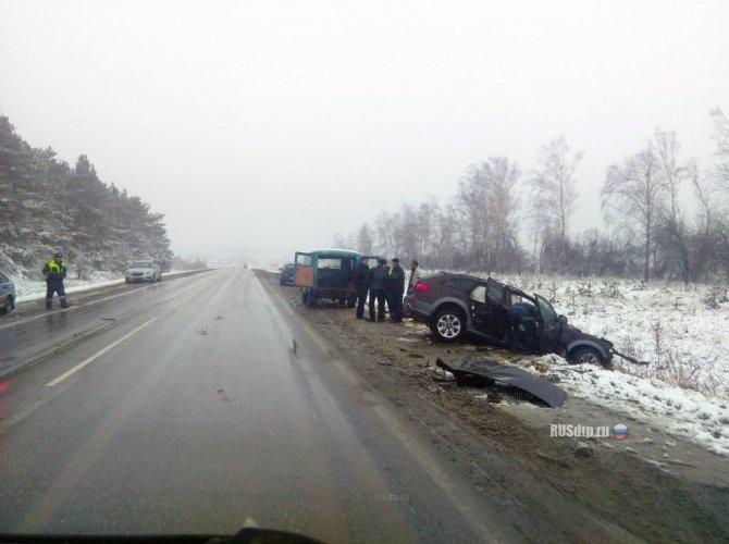 При столкновении Audi и грузовика под Димитровградом погиб человек_5.jpg