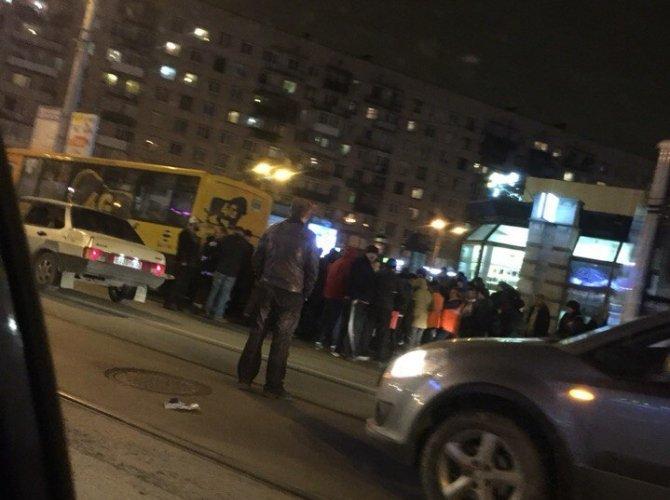 Пьяный водитель сбил девушку возле метро «Звездная» 4.jpg