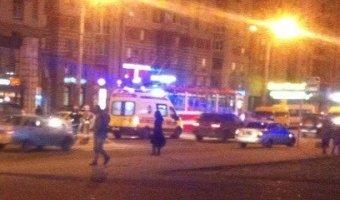 Пьяный водитель сбил девушку возле метро «Звездная»