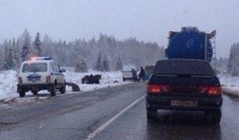 Два человека погибли в ДТП с автобусом под Пермью