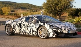McLaren 570S GT замечен на тестах