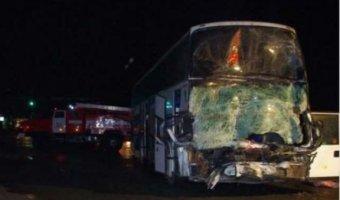 Девять человек пострадали в ДТП под Курском