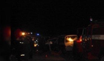 Семь человек погибли в ДТП с двумя микроавтобусами под Иркутском