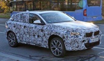 Появились шпионские фото кроссовера  BMW X2