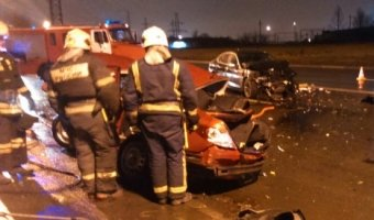 В ДТП на Витебском проспекте погиб человек