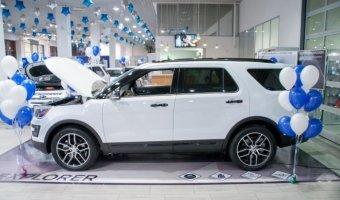 Петербургские дилеры Аларм-Моторс Форд показали публике новый Ford Explorer