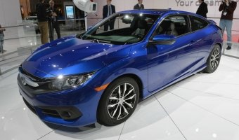 Honda представили Civic Coupe нового поколения 2016