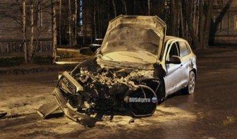 В Северодвинске пьяный водитель пытался уйти от погони