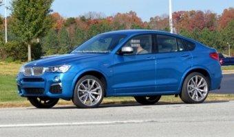 Появились фото нового поколения BMW X4 M40i