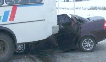 В ДТП на автодороге Кунгур – Ашап погибли три человека