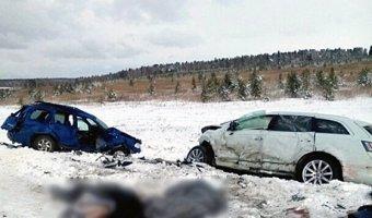 На трассе «Байкал» погибли мать и дочь