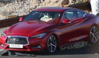 В Сети появились новые фотографии купе Infiniti Q60