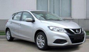 В Китае замечен рестайлинговый Nissan Tiida