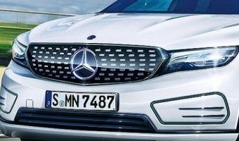 Mercedes готовят новый электрокар ELA