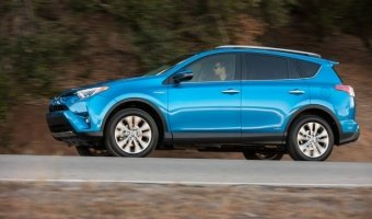 Новая модификация Toyota Rav4 2016 HIBRID составит от 10 до 15 процентов общих продаж.