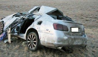Три человека из Lexus погибли около Шира в Хакасии