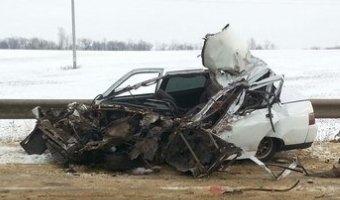 В Мордовии в ДТП с грузовиком погиб водитель ВАЗа