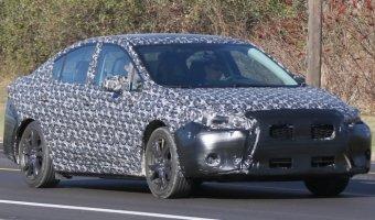 Subaru вывели на тесты новое поколение Impreza