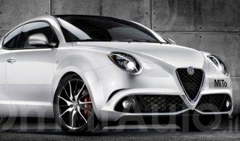 В Сеть выложили рендер обновленного Alfa Romeo MiTo