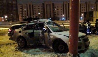 В Екатеринбурге погиб пассажир Chevrolet
