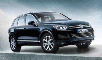 Третье поколение Volkswagen Touareg выйдет в 2017 году