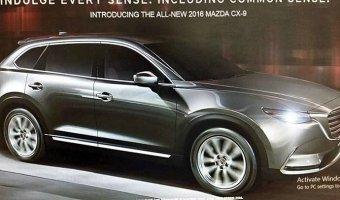 Изображения новой Mazda CX-9 выложили в Сеть до премьеры