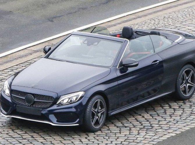 В Сеть выложили снимки прототипа Mercedes-Benz класса С.jpg
