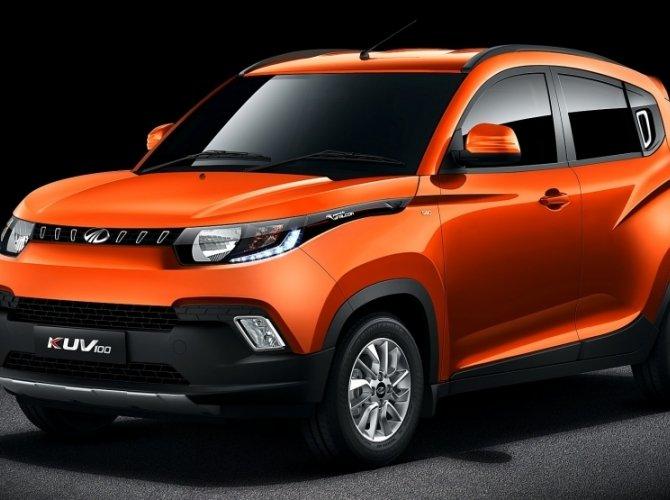 Индийская компания Mahindra подготовила новый хэтчбек KUV100 (2).jpg