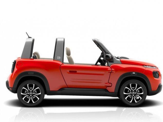 Электрический кабриолет кроссовер Citroen E-Mehari выйдет в 2016 году (1).jpg