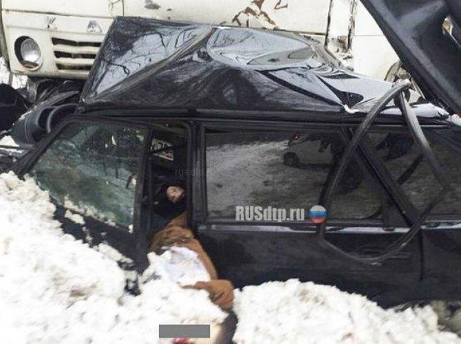 Три человека погибли в ДТП с КАМАЗом в Томске 4.jpg
