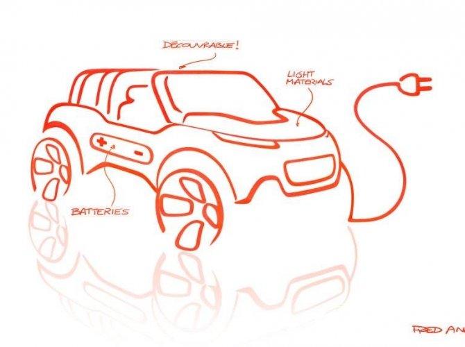 Электрический кабриолет кроссовер Citroen E-Mehari выйдет в 2016 году (2).jpg