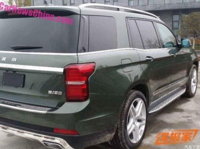 Новый внедорожник Beijing Auto BJ90 появился на фото 5.jpg