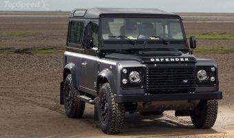 Land Rover Defender нового поколения представят в 2018 году