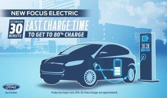 Электрический Ford Focus появится в 2016 году