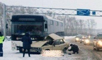 Два человека погибли в ДТП в Кузбассе