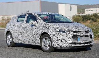 Обновленный Chevrolet Cruze 2017 был замечен в Европе