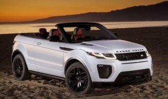 Стали известны рублевые цены кабриолета от Range Rover