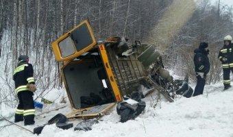 Под Верхней Пышмой в ДТП с автобусом пострадало пять человек