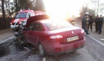 В Тверской области в аварии разбились пять человек