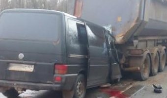 Под Петербургом в ДТП погибли четыре сотрудника УФСИН
