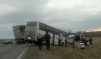 На Ставрополье в ДТП с участием автобуса погиб человек